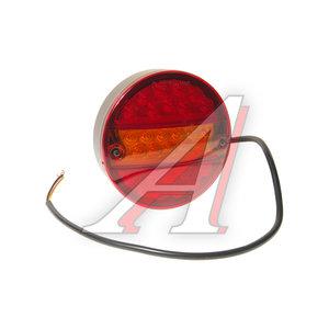 Фонарь габаритный задний универсальный круглый левый/правый 24V светодиодный MARS TECH M720101, 0021RL