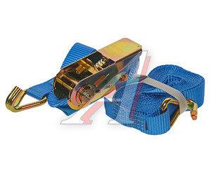 Стяжка крепления груза 0.8т 5м-25мм (полиэстер) с храповиком KRAFT 0163, 25.04.1.0.5000
