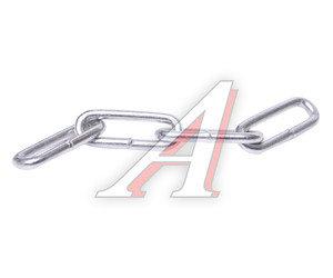 Цепь d=4мм сварная длинное звено 1м DIN763