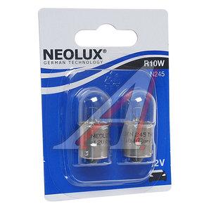 Лампа 12V R10W BA15s блистер (2шт.) NEOLUX N245-2бл, NL-245-2бл, А12-10