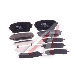 Колодки тормозные SUZUKI Swift (05-) передние (4шт.) TRW GDB3490, J3608026, 55200-50J02