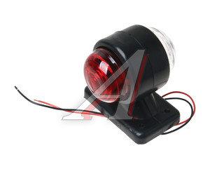 Фонарь габаритный красно-белый ФГ-1 (без лампы) ТЕХАВТОСВЕТ ФГ-1, ФГ-1.3716