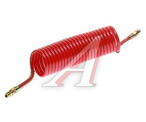 Шланг пневматический витой М16 L=7.5м (красный) ПРЕМИУМ AIR FLEX М16 L=7.5м (красный) (PA6) R, AIR FLEX М16 L=7.5м (красный)