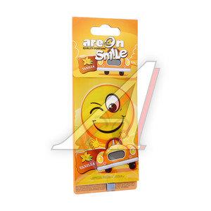 Ароматизатор подвесной пластина (ваниль) Smile AREON ASD11