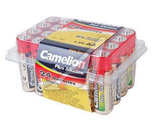 Батарейка AA LR6 1.5V Alkaline Plus (по 1шт.) CAMELION C-LR6P(24)