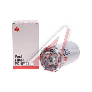 Фильтр топливный KOMATSU (дв.CUMMINS) SAKURA FC5713, FF5488, 3959612/6003193750/6003113750/P550774