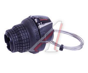 Шифтер велосипедный тормозной 3 скорости левый тросс 1800мм Tourney SHIMANO ASLRS35LSBP
