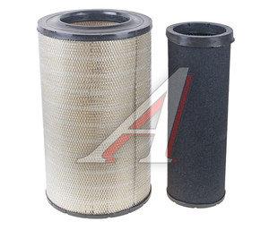 Элемент фильтрующий КАМАЗ воздушный ЕВРО-3 комплект TSN 725-1109560 9.1.455/6, 9.1.455/6