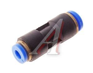 Соединитель трубки ПВХ,полиамид d=6мм-4мм прямой PG06/04, АТ-360/AT10360