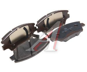 Колодки тормозные SSANGYONG Tivoli (15-) (G16F,D16F) передние (4шт.) OE 48130350B0
