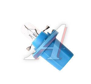 Лампа 12V 1.2W Bax8.5d голубой патрон PHILIPS 12603CP, P-12603, А12-1,2