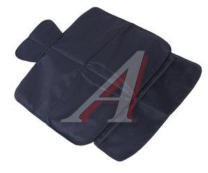 Накидка на сиденье защитная под автокресло без спинки (карманы) черная ВЕЗДЕХОД НДА