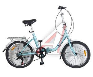 """Велосипед 20"""" 6-ск. складной HILAND T19B705 B, 155"""