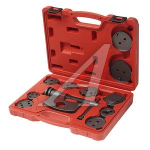Набор инструментов для сведения тормозных цилиндров 11 предметов ЭВРИКА ER-88108
