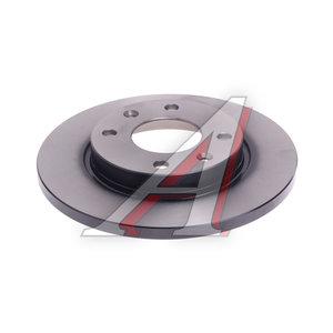 Диск тормозной PEUGEOT 206 передний (1шт.) TRW DF2815, 4249.A5