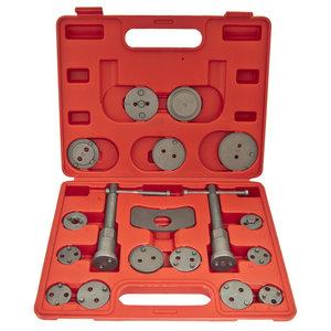 Набор инструментов для сведения тормозных цилиндров 18 предметов ЭВРИКА ER-88109