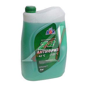 Антифриз зеленый -42С 5л Antifreeze Z42 AGA AGA049Z
