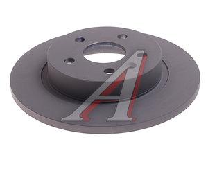 Диск тормозной CHEVROLET Cruze OPEL Astra J (R15) задний (1шт.) OE 13502136, DF6340
