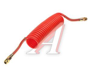 Шланг пневматический витой М22 L=5.5м (красный) ПРЕМИУМ AIR FLEX М22 L=5.5м (красный) (PA6) R, AIR FLEX М22 L=5.5м (красный) (PA6)