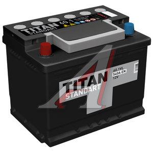 Аккумулятор ТИТАН Standart 60А/ч 6СТ60
