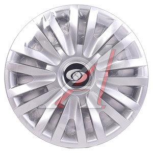 Колпак колеса R-14 декоративный серый комплект 4шт. 217 217 R-14