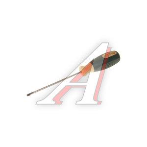 Отвертка шлицевая SL 0.5х3.5х150мм с противоскользящей ручкой ROCK FORCE RF-713035