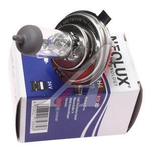 Лампа 24V H4 75/70W P43t-38 NEOLUX N475, NL-475, АКГ 24-75-70 (Н4)