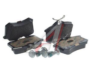 Колодки тормозные VW AUDI SEAT SKODA задние (4шт.) OE 4B0698451E