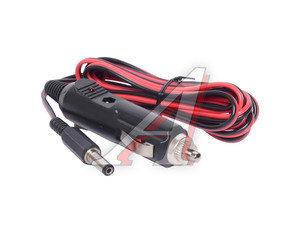 Провод питания авто-ТВ в прикуриватель (2м с предохр,индикатором штекер 14х5.5х2.1) АЭНК ПП-2*2,1(пи)