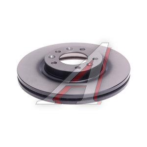 Диск тормозной PEUGEOT 407 (04-10) передний (1шт.) TRW DF6121, BG3835, 4249.L3/4246.N8/95661813