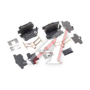 Колодки тормозные SUZUKI SX4 (06-) задние (4шт.) OE 55800-80J04, GDB3516, 55800-80J03