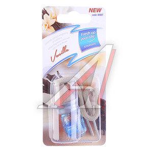 Ароматизатор подвесной жидкостный (ваниль) KREDO W007