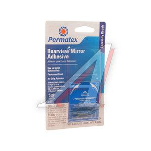 Клей для зеркал заднего вида 2-х компонентный 0.3мл+0.6мл Rearview Mirror Adhesive PERMATEX PERMATEX 81844, PR-81844