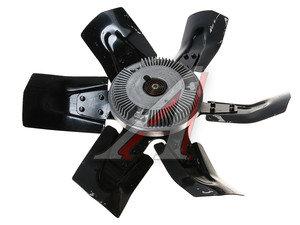 Вентилятор УАЗ-3160, 3163 с вязкостной муфтой в сборе (металл, 6 лопастей) 3741-1308070-02