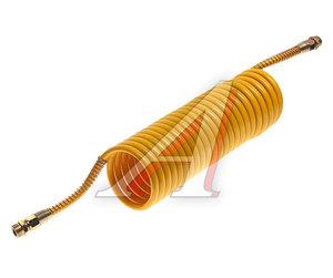 Шланг пневматический витой М22 L=7.5м (желтый) ПРЕМИУМ AIR FLEX М22 L=7.5м (желтый) (PA6) R, AIR FLEX М22 L=7.5м (желтый)