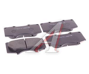 Колодки тормозные MITSUBISHI Pajero 4 (07-) TOYOTA Land Cruiser 100 (03-) передние (4шт.) HSB HP5098, GDB3364, 04465-35290