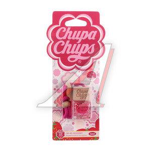 Ароматизатор подвесной жидкостный (клубника со сливками) 5мл CHUPA CHUPS CHP103