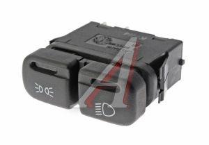 Выключатель кнопка ВАЗ-2114,2115 фонарей габаритных АВАР 882.3709/88.3709 12V, 81089, 88.3709