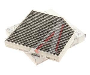Фильтр воздушный салона AUDI A6,A7 (11-),A8 (10-) угольный OE 4H0819439, LAK667