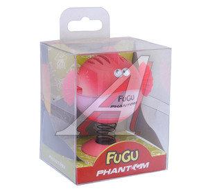Ароматизатор на панель приборов гелевый (ягоды красные) фигура Фугу Fugu PHANTOM PH3548 \Фугу Fugu, PH3548