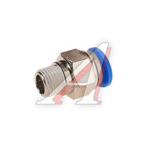 """Фитинг для пластиковых трубок 1/4"""" 12мм с наружной резьбой ROCK FORCE RF-SPC12-02"""