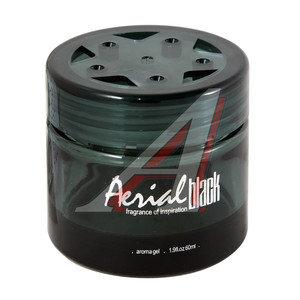 Ароматизатор на панель приборов гелевый (чистый сквош) 60мл Aerial Black FKVJP ABL-61 \Aerial Black, ABL-61