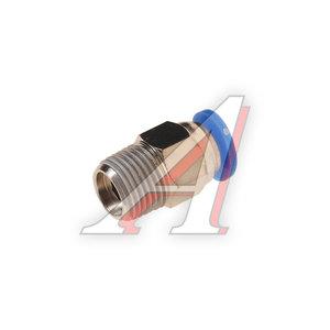 """Фитинг для пластиковых трубок 1/8"""" 4мм с наружной резьбой ROCK FORCE RF-SPC04-01"""