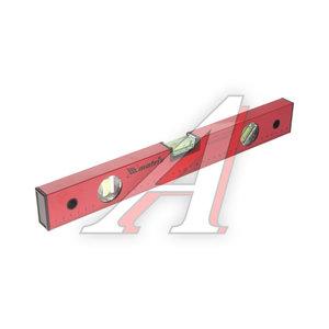 Уровень строительный 400мм 3 глазка красный MATRIX 33220