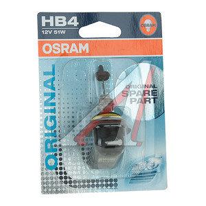 Лампа 12V HB4 51W P22d блистер (1шт.) OSRAM 9006-01B, O-9006бл