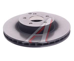Диск тормозной MERCEDES E (W211) (02-09) передний (1шт.) TRW DF4264, A2114210912