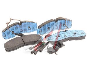 Колодки тормозные NISSAN Cabstar (06-) передние (4шт.) OE D1060-MB20C, GDB1610