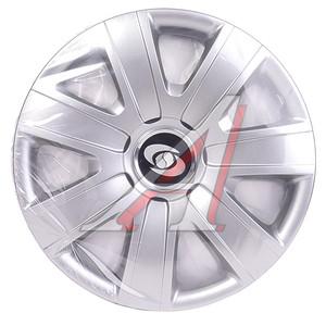 Колпак колеса R-14 серый комплект 4шт. 224 R-14