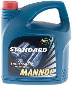 Масло моторное STANDART POWER мин.5л MANNOL MANNOL SAE15W40, 1216