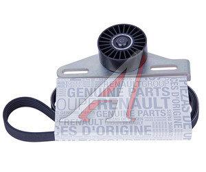 Ремень приводной поликлиновой RENAULT Logan,Sandero,Kangoo,Symbol комплект с роликом OE 7701477522, K015PK1113